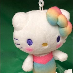 Loot crate hello kitty Mermaid keychain